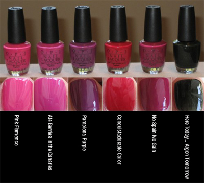 OPI Espana Collection Fall/Winter 2009 photo 2