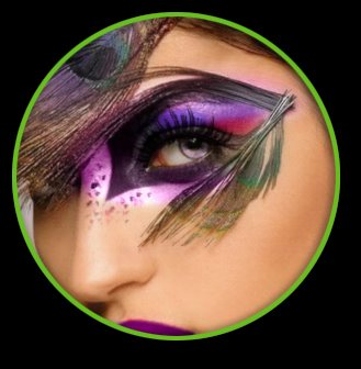 Sensational Mardi Gras Eyes
