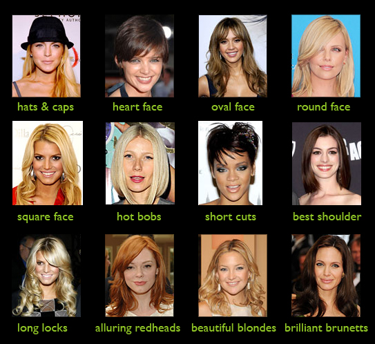 celebrity hair search